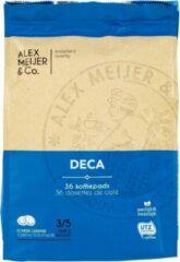 Koffiepads Cafeïnevrij Decaf | 3 zakken 36 koffiepads | Alex Meijer