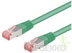 Groene S-FTP Kabel - 0.5 meter - Groen - Goobay
