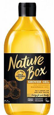 Afbeelding van Nature Box Macadamia Nutrition&Softness douchegel - 385 ml