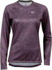 Paarse Pearl Izumi Fietsshirt Summit Long Dames Polyester Blauw Maat Xs