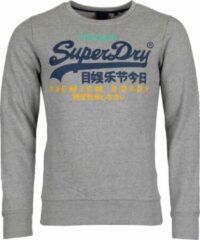 Zilveren Superdry Vintage Logo Tri Heren Hoodie - Maat S
