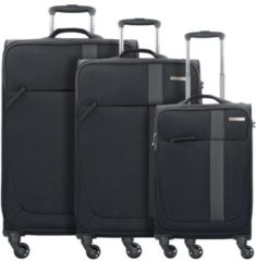 Travel Line 6904 4-Rollen Kofferset 3tlg. D&N black