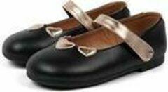 Paxico Shoes | Shimmery Chic | Meisje Ballerina's - Zwart
