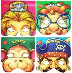 Toitoys Toi-toys Masker-kleurboek Piraat Junior 20 Stuks