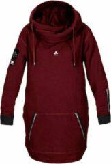 Rode Oneskee Waterdichte heren hoodie Burgundy XXL | Skate hoodie | Snowboard hoodie | Ski hoodie | Waterdichte hoodie | Hoodie skateboarding