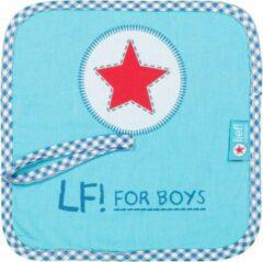 Lief ! - LF! For Boys - Speendoekje/ knuffeldoekje - turquoise