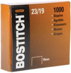Bostitch nietjes 23-19-1M, 19 mm, verzinkt, voor 00540