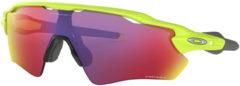 Paarse Oakley Radar EV Path zonnebril (Prizm Road glazen, Retina Burn montuur) - Zonnebrillen