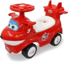 Jamara Push-car Superwings - Loopauto - Jongens en meisjes - Rood;Wit