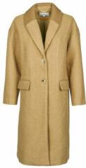 Bruine Kleding Vicallee Wool Coat by Vila