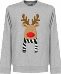 Grijze Retake Reindeer Juventus Supporter Sweater - S
