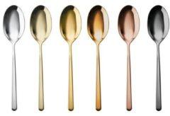 Sambonet - Linear - Espressolepels - Koffielepels - Strak design - Vaatwasserbestendig - Edelstaal - Diverse kleuren