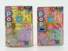 Blauwe My Little Pony POP met accessoires - roze/blauw