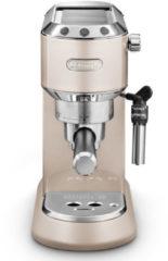 Beige DeLonghi Dedica Metallics Pump Espresso EC785.BG Volledig automatisch Espressomachine 1,1 l