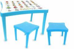Jamara Tafelset Easy Learning Junior 57 X 41,5 Cm Blauw 3-delig