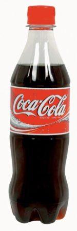 Afbeelding van Zwarte Coca-Cola frisdrank, fles van 50 cl, pak van 24 stuks