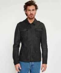 Zwarte Shirt076 - black - 100002008 - XXL goosecraft