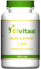 Natural Goods Rode Gist Rijst + Q10, 180 Vegetarische Capsules