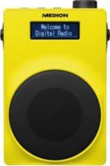 MEDION® LIFE® E66880 DAB+/UKW-Radio, USB, Kopfhöreranschluss, 30 Watt (3 Watt RMS) gelb