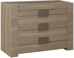 Gamillo Furniture Commode Moka 81 cm hoog in houtskool eiken