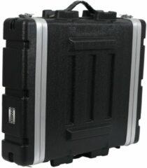 Innox Deze 2U hoge flightcase komt van pas als je 19 inch apparatuur dieper is dan een standaardformaat, of als je iets meer ruimte aan de achterkant van je apparatuur wilt. Gemaakt van stevig ABS en voorzien van solide hardware.
