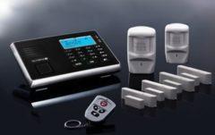 Olympia Protect 9061 Premium Plus Alarmanlage GSM Funk Set 2 x Bewegungsmelder 4 x Tür Fenster/Kontakte und Fernbedienung