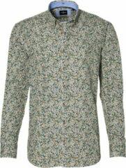 Jac Hensen Overhemd - Regular Fit - Groen - 3XL Grote Maten