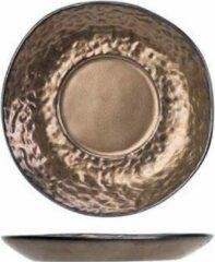 Bronze Cosy&Trendy Cosy & Trendy Copernico Espresso Schotel - Ø10,5x(H)1cm ( Set van 6 )