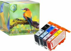 Cyane Ink Hero - 4 Pack - Inktcartridge / Alternatief voor de HP 364 364XL CN684EE CB316EE CB324EE SD534EE CB325EE Photosmart 5510 5512 5514 5515 5520 5522 5524 5525 6520 6510 B110A plus B210 B109A B210A Officejet 4610 4620 4622 Deskjet 3520 3070A