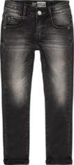 Zwarte Raizzed Jongens Skinny Jeans - Black Stone - Maat 134