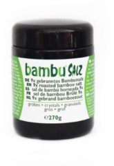 Bambu Salz Bamboezout grof 9x gebrand 270 Gram