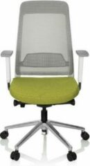 Hjh OFFICE Chiaro T2 White - Professionele bureaustoel - Groen / Grijs - stof / netstof