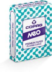 Cartamundi speelkaarten Candy Maze 92 mm karton blauw