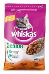 Whiskas Brokjes Senior Kip - Kattenvoer - 950 g - Kattenvoer
