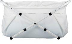 BiBaBad verstelbaar Babybadje - 70-90 cm - Wit