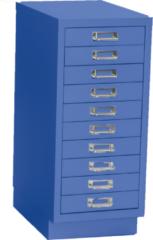 Multiladenkast 10 laden - Blauw