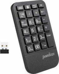 Zwarte Perixx Peripad 705 draadloos Numeriek toetsenbord + 4 hotkeys voor spreadsheets