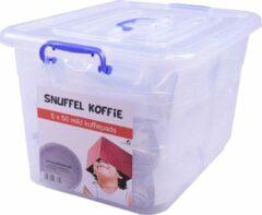 SnuffelStore Koffie Pads - Mild - geschikt voor SENSEO machine - VOORDEELVERPAKKING (6 x 50) 300 stuks - met opbergbox