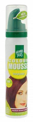 Afbeelding van Hennaplus Colour Mousse haarkleuring - 03.67 burgnd