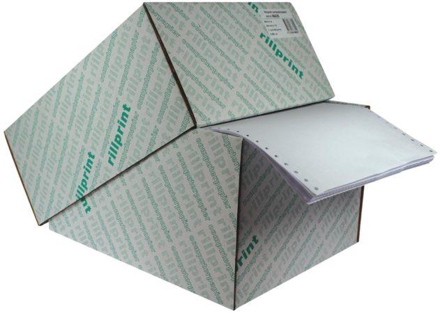 Afbeelding van Rillstab Blanco papier formaat 240 mm x 12 (305 mm) 60 g/m²
