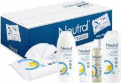 Neutral Parfumvrij Babypakket 12- Delig! 8 x 63 Neutal billendoekjes / baby crème / huidolie / shampoo / wasgel