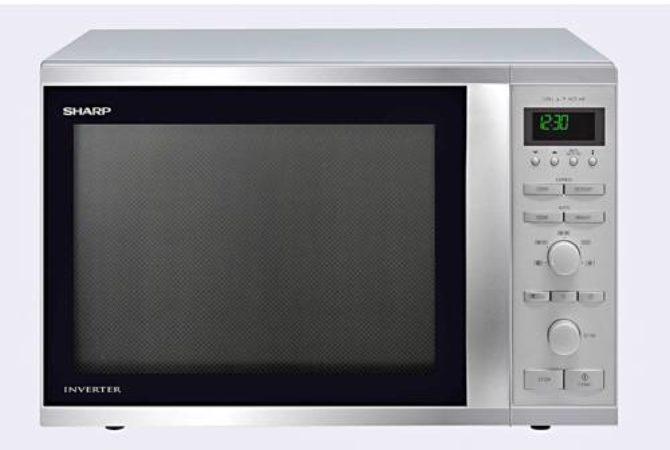 Afbeelding van Roestvrijstalen Sharp Home Appliances Sharp R-941STW - Vrijstaande magnetron
