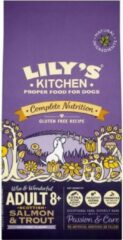 7 kg Lily's kitchen dog senior turkey / trout hondenvoer