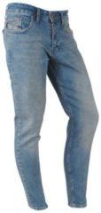 Blauwe Catch heren jeans brown wash stretch lengte 32 denim