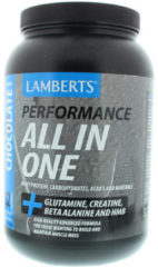 Lamberts All in one whey proteine chocolade 1450 Gram