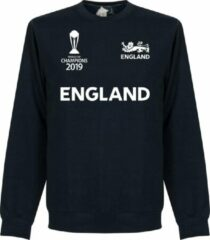 Marineblauwe Merkloos / Sans marque Engeland Cricket World Cup Winners Sweater - Navy - L