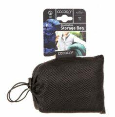 Cocoon - Schlafsack-Aufbewahrungsbeutel Mesh maat 85 / 35 cm, zwart