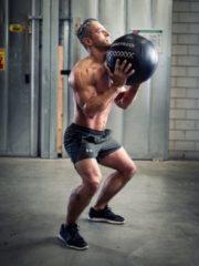Zwarte Lifemaxx Crossmaxx Pro Wall Ball - 10 kg