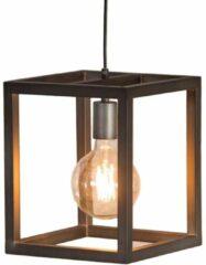 Zaloni Hanglamp Terrance 1L 25x25cm breed - Zilver