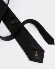 Zwarte Ted Baker Blula stropdas van zijde